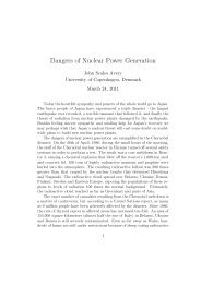 Dangers Of Nuclear Power Generation (PDF) - Countercurrents.org