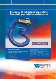 Sistema di tubazioni preisolate flessibili per ... - Watts Industries