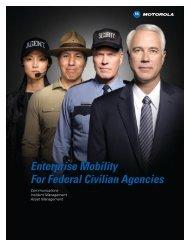 Federal: Civil Capabilities Brochure - Brochures - Motorola Solutions