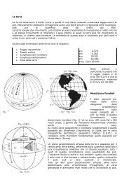 Meridiani & Paralleli