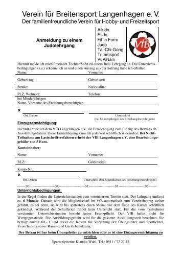 Verein für Breitensport Langenhagen e. V. - VfB Langenhagen eV