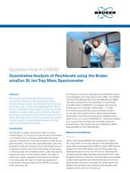 Application Note # LCMS-60 Quantitative Analysis of ... - Bruker