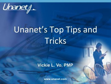 Meeting Presentation - Unanet Technologies