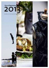 140331 VisitSweden Års- och hållbarhetsredovisning2013