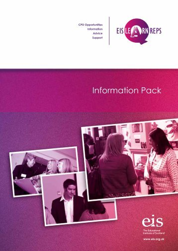 Learning Rep Information Pack - The Educational Institute of Scotland