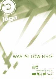 WAS IST LoW-h2o? - wohn-waerme