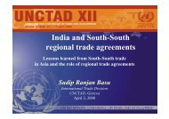 India and South-South regional trade agreements