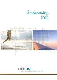 Ã…rsberetning 2012 - Danmarks Rejsebureau Forening