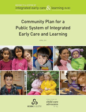 Community Plan for a Public System of Integrated Early ... - Our Future