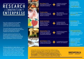lien vers la brochure - Institut de recherche en biologie végétale ...