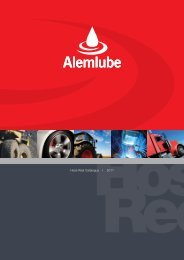 Hose Reel Catalogue I 2011 - Alemlube