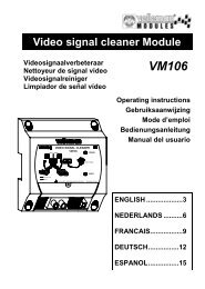 Video signal cleaner Module - QKits Electronic Kits