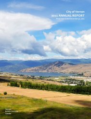 2011 ANNUAL REPORT - City of Vernon