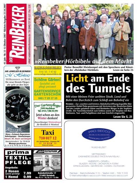 Des Tunnels Der Reinbeker