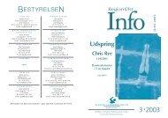 SR¯-Info #2 - Dansk Svømmeunion