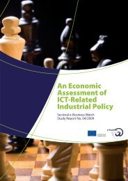 An Economic Assessment of ICT-Related Industrial Policy - empirica