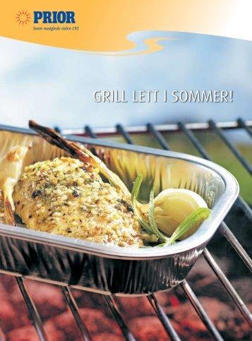 Grill lett i sommer! - oppskriftsbrosjyre fra Prior, pdf. - Nortura