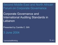 Sifri-Corporate governance and International Auditing - AdoptIFRS.org