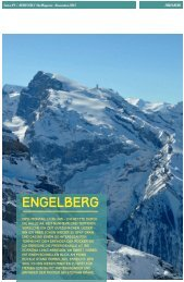 Bergstolz Ski Magazin, November 2013, Deutschland - Engelberg