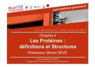 Les Protéines : définitions et Structures - Université Virtuelle Paris 5
