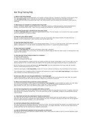 Hair Drug Testing FAQ - Modern Health System