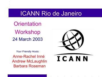 ICANN Rio de Janeiro