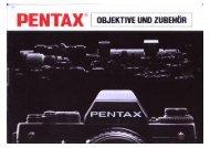 Objektive + Zubehör 1/85 - Schmickis Pentax Seite