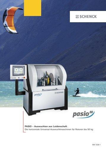 PASIO – Auswuchten aus Leidenschaft Die horizontale Universal ...