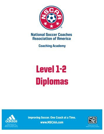 Level 1-2 Courses - National Soccer Coaches Association of America