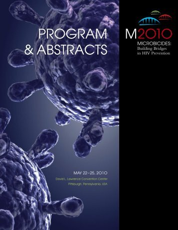 PROGRAM & ABSTRACTS M2O1O - Microbicide Trials Network
