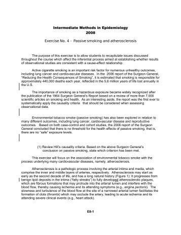 Passive smoking and atherosclerosis - IESC/UFRJ
