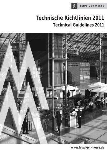 Technische Richtlinien 2011