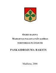 PASKAIDROJUMA RAKSTS - Rīgas Plānošanas Reģions