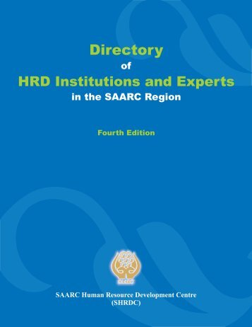 Here - SAARC Human Resource Development Centre