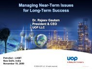 Managing Near-Term Issues for Long-Term Success Managing ...