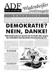 Wadenbeißer Nr. 32 vom 21.06.2001 (Sonderausgabe) [PDF] - ADF ...