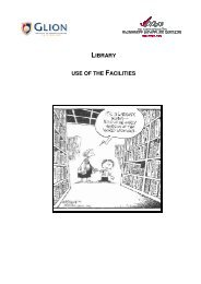 LIBRARY USE OF THE FACILITIES