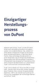 Tyvek® Pocketflyer - DuPont™ Tyvek - Seite 3