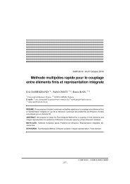 Méthode multipôles rapide pour le couplage entre éléments finis et ...