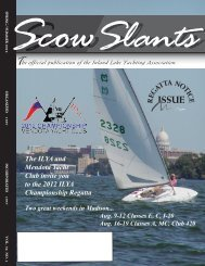 Spring / Summer 2012 - Inland Lake Yachting Association
