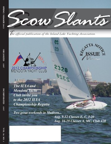Spring / Summer 2012 - Inland Lake Yachting Association