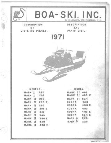 BOA-SKI. INC. - Vintage Snow