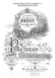 Deutsche Johann Strauss Gesellschaft e.V. ... - arts Ralph Braun
