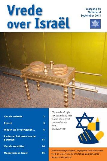over Israël - Kerk en Israël