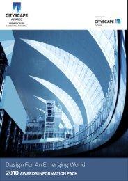 Cityscape Awards - architects24.com