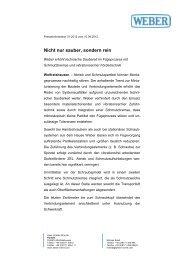 Technische Sauberkeit - Weber Schraubautomaten