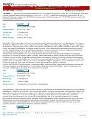 POSTING DATE: 11/30/2012 REMOVAL DATE: 12/10/2012 An ...