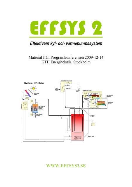 Proceedings från EFFSYS 2 dagen 2009