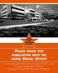 please share this publication with the entire dental office!
