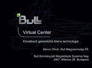 Virtual Center - Bull Magyarország
